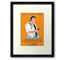 Nerd Movie poster concept Framed Print