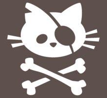 Pirate Cat One Piece - Short Sleeve