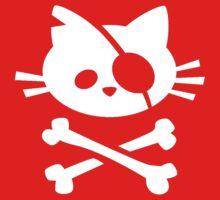 Pirate Cat Baby Tee