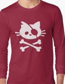 Pirate Cat Long Sleeve T-Shirt
