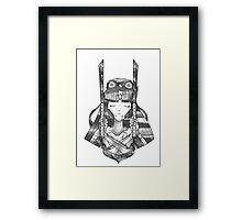Galaxy Warrior Framed Print