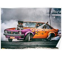 FRYZEM Ultimate Burnout Challenge Skid Poster