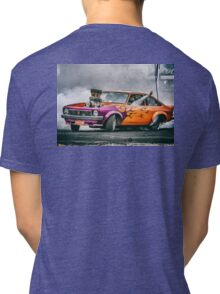 FRYZEM Ultimate Burnout Challenge Skid Tri-blend T-Shirt