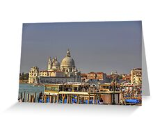 Basilica of St Mary of Health Greeting Card