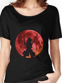 attack on titan mikasa ackerman anime manga shirt Women's Relaxed Fit T-Shirt