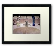 Remember to wash your hands!!! Framed Print