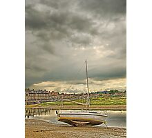 Storm clouds over Blakeney Photographic Print