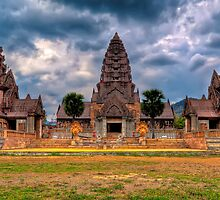Thai Temple by Adrian Evans