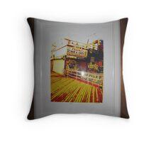 Coney Island one Throw Pillow