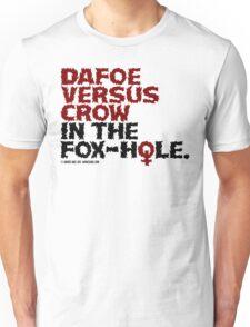 Dafoe vs. Crow in the Fox-Hole T-Shirt