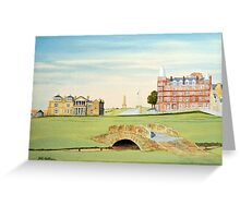 St Andrews Golf Course Scotland - R&A Greeting Card