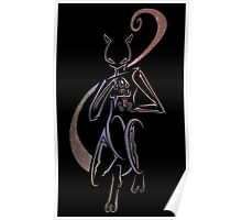 Mewtwo - Judgement Poster
