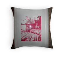 Coney Island Pink Throw Pillow