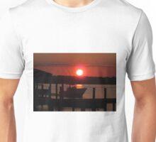 Boating At Sunset Unisex T-Shirt
