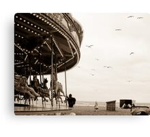 What goes around, comes around. Canvas Print