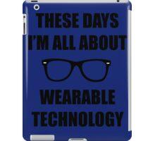 Sonic Sunglasses - Black iPad Case/Skin