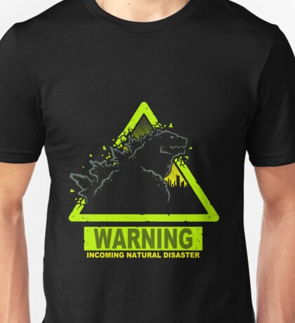 Incoming Natural Disaster Unisex T-Shirt