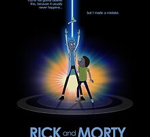 Rick and Morty in Dimension Tron by Squall234