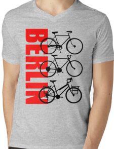 BERLIN-3 Mens V-Neck T-Shirt