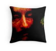 Goya by Firelight Throw Pillow