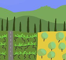 Tuscany  by Nigel Silcock