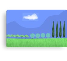 Tuscany countryside Canvas Print