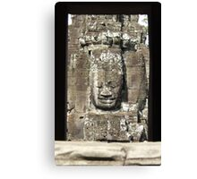 Framed Buddha Canvas Print
