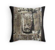 Framed Buddha Throw Pillow