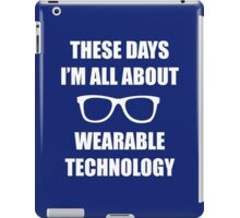 Sonic Sunglasses - White iPad Case/Skin