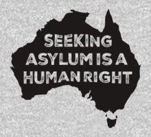 Seeking Asylum Is A Human Right One Piece - Long Sleeve