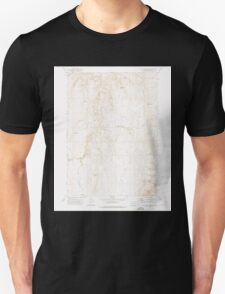 USGS Topo Map Oregon Wall Rock Springs 281994 1972 24000 T-Shirt