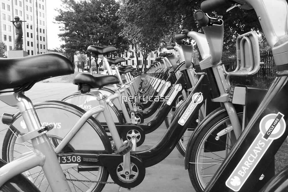 Boris's Bikes by perrycass