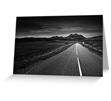 the road to Torridon Greeting Card