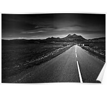 the road to Torridon Poster