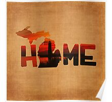 Home: Michigan Poster