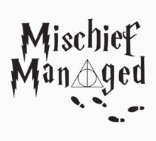 Mischief Managed One Piece - Long Sleeve