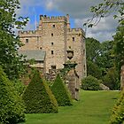 South Garden, Sizergh Castle by RedHillDigital