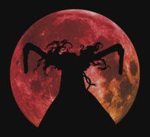 hellsing ultimate alucard moon anime manga shirt by ToDum2Lov3