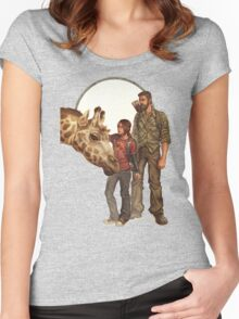 The Last of Us - Giraffe Women's Fitted Scoop T-Shirt