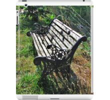 Abandoned Bench iPad Case/Skin