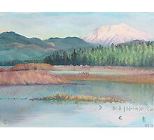 Mt St Helens Photographic Print