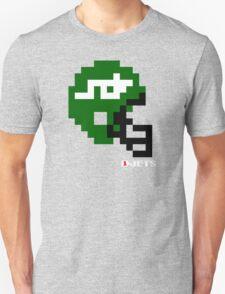 Tecmo Bowl - New York Jets - 8-bit - Mini Helmet shirt T-Shirt