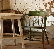 Green Chair by Vicki Pelham