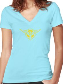 SSR - The Strategic Science Reserve - Gold Women's Fitted V-Neck T-Shirt