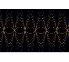 Rainbow Graphs- Where Maths Meets Art Photographic Print
