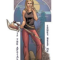 BUFFY THE VAMPIRE SLAYER - BEEP ME by dngstudios