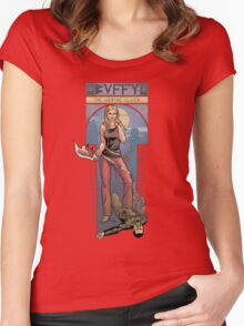 BUFFY THE VAMPIRE SLAYER - BEEP ME Women's Fitted Scoop T-Shirt