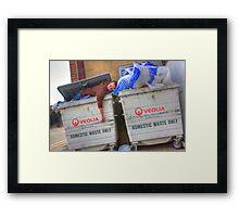 Human Waste Framed Print