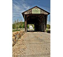 Through The Bridge Photographic Print