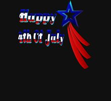 Happy 4th Of July Womens Fitted T-Shirt